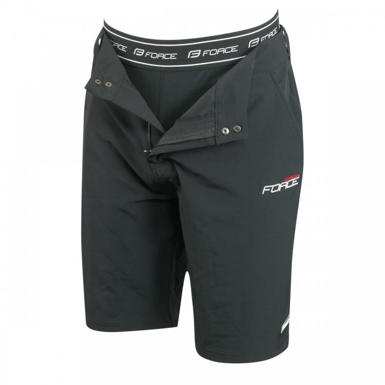 Cyklistické kalhoty krátké FORCE BLADE MTB s odnímatelnou vložkou ... 7c9c707e38