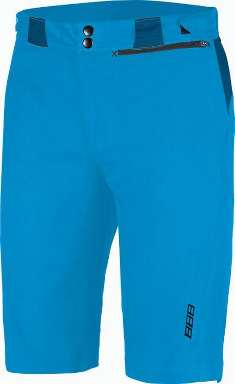 Cyklistické kalhoty krátké BBB BBW-310 Element modré kraťasy ... 8b353efd4d