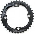 Chain Ring MTB 36T 104 AL5 Blast Black 2x11 Medium Pin