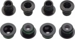 Chainring Bolt Kit 4x2 Aluminum/Steel Black SRAM