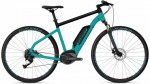 Ebike Square Cross B1.8 - Electric Blue / Jet Black