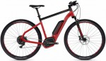 Ebike Square Cross B4.9 - Riot Red / Jet Black