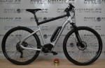 Ebike Square Cross B2.9 - Iridium Silver / Jet Black